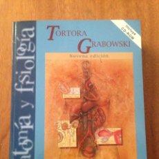 Libros: PRINCIPIOS DE ANATOMÍA Y FISIOLOGÍA - TORTORA, GRABOWSKI. Lote 135077829