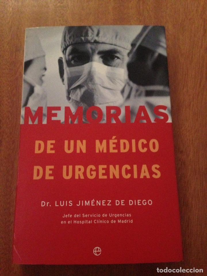 MEMORIAS DE UN MÉDICO DE URGENCIAS (Libros Nuevos - Ciencias, Manuales y Oficios - Medicina, Farmacia y Salud)
