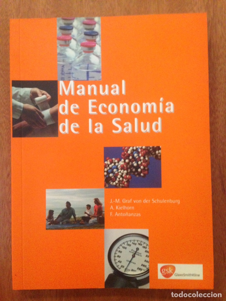 MANUAL ECONOMÍA DE LA SALUD (Libros Nuevos - Ciencias, Manuales y Oficios - Medicina, Farmacia y Salud)