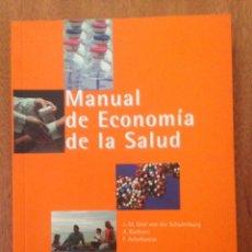 Libros: MANUAL ECONOMÍA DE LA SALUD. Lote 135164779