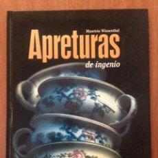 Libros: APERTURAS DE INGENIO. Lote 135202869