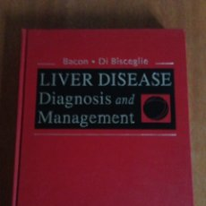 Libros: LIVER DISEASE DIAGNOSIS AND MANAGEMENT. Lote 135266811