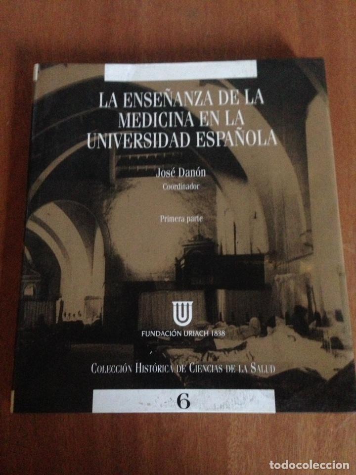 LA ENSEÑANZA DE LA MEDICINA EN LA UNIVERSIDAD ESPAÑOLA (Libros Nuevos - Ciencias, Manuales y Oficios - Medicina, Farmacia y Salud)