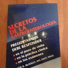 Libros: SECRETOS DE LA GASTROENTEROLOGÍA. Lote 135269162