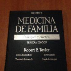 Libros: MEDICINA DE FAMILIA. Lote 135278157