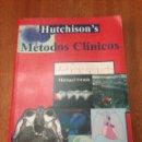 Libros: MÉTODOS CLÍNICOS. Lote 135293695