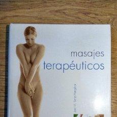 Libros: MASAJES TERAPÉUTICOS DE JOSÉ M. SANZ MENGÍBAR. Lote 135424082