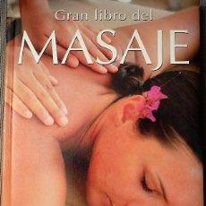 Libros: GRAN LIBRO DEL MASAJE STEWART MITCHELL 5,5 € ESTÁ PARA RECOGER EN MURCIA. Lote 135506294