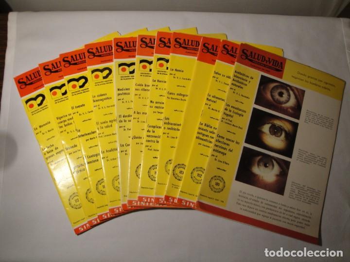 SALUD Y VIDA. MEDICINA NATURAL. DR. V.L. FERRÁNDIZ. 11 REVISTAS DE 1970 A 1973. NUEVAS. (Libros Nuevos - Ciencias, Manuales y Oficios - Medicina, Farmacia y Salud)