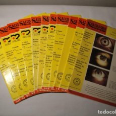 Libros: SALUD Y VIDA. MEDICINA NATURAL. DR. V.L. FERRÁNDIZ. 11 REVISTAS DE 1970 A 1973. NUEVAS.. Lote 140308922