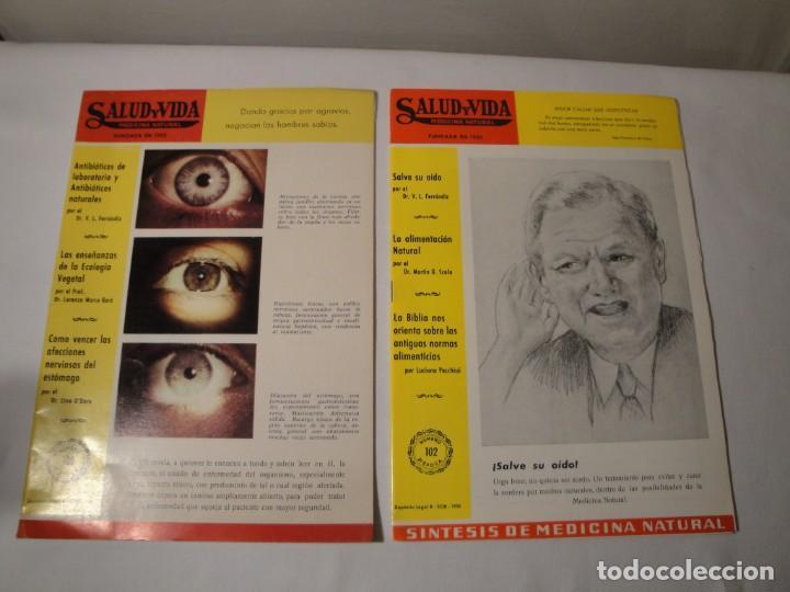 Libros: Salud y Vida. Medicina Natural. Dr. V.L. Ferrándiz. 11 revistas de 1970 a 1973. Nuevas. - Foto 2 - 140308922
