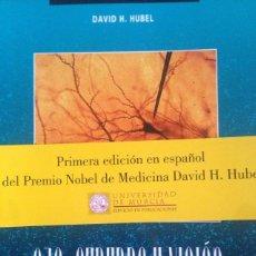 Libros: LIBRO OJO, CEREBRO Y VISION - DAVID H. HUBEL PREMIO NOBEL DE MEDICINA. UNIVERSIDAD DE MURCIA, 1999. Lote 140593108