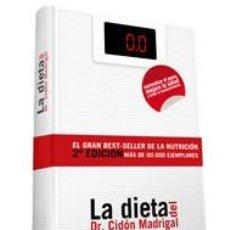 Libros: LA DIETA DEL DOCTOR CIDÓN MADRIGAL - JOSÉ LUIS CIDÓN MADRIGAL (CARTONÉ). Lote 141307390