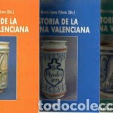 Libros: HISTORIA DE LA MEDICINA VALENCIANA. COLECCIÓN DE 3 TOMOS( COMPLETA) NUEVA.. Lote 142114173