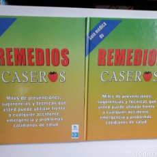 Libros: GUÍA MÉDICA REMEDIOS CASEROS 2 TOMOS.TAPA DURA. Lote 143600777