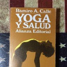 Libros: YOGA Y SALUD. Lote 144011390