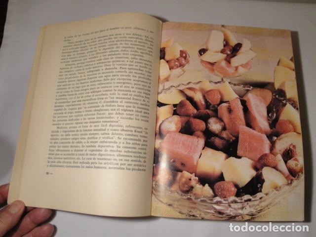 Libros: Manual de Alimentación sana. Autor: Rafael Lezaeta. 2ª edición. Ediciones Lezaeta. 1973. - Foto 3 - 145925306