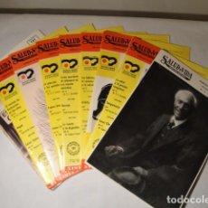 Libros: REVISTAS: SALUD Y VIDA. DR. V.L. FERRÁNDIZ. 9 REVISTAS 1978-1979 Y 1980. NUEVAS. Lote 146304658