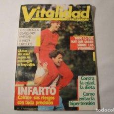 Libros: REVISTAS VITALIDAD. EDITA SARPE. VARIAS 1985-1986-1987 Y 1988. NUEVAS.. Lote 147242198