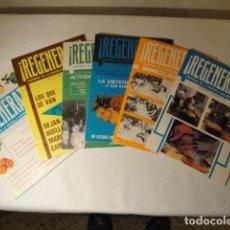 Libros: REVISTAS REGENÉRATE. DIRECTOR: NICOLÁS CAPO. AÑO 1979 COMPLETO. NUEVAS.. Lote 147556942