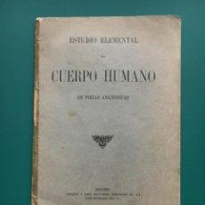 Libros: LIBRO DE ANATOMÍA CON PIEZAS DESPLEGABLES. Lote 149786402