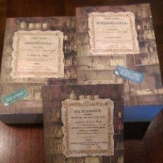 Libros: 3 LIBROS FACSÍMILES RELATIVOS A LA HOMEOPATÍA (1846-1852). GUÍA DEL HOMEÓPATA. MEDICINA TRADICIONAL. Lote 220890585