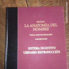Libros: TRATADO LA ANATOMÍA DEL HOMBRE, SISTEMA DIGESTIVO URINARIO-REPRODUCCIÓN. Lote 151904586
