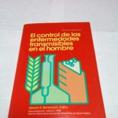Libros: EL CONTROL DE LAS ENFERMEDADES TRANSMISIBLES EN EL HOMBRE 1983. Lote 152805732