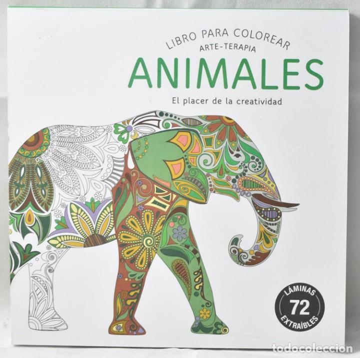 ARTE-TERAPIA. LIBRO PARA COLOREAR. ANIMALES EL PLACER DE LA CREATIVIDAD. (Libros Nuevos - Ciencias, Manuales y Oficios - Medicina, Farmacia y Salud)