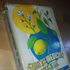Libros: GUIA DE MEDICINA VEGETAL DEL DR. FERRANDIZ. Lote 167487332