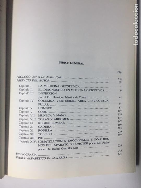 Libros: EXPLORACION CLINICA DEL APARATO LOCOMOTOR EN MEDICINA ORTOPÉDICA - Foto 3 - 169644792