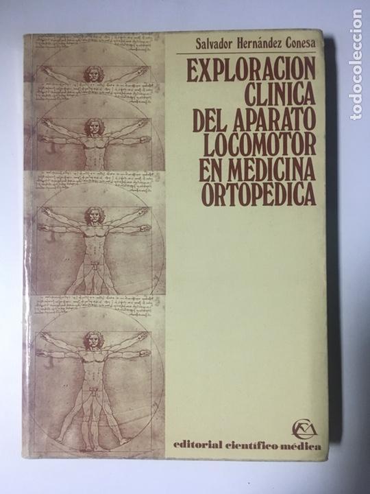 EXPLORACION CLINICA DEL APARATO LOCOMOTOR EN MEDICINA ORTOPÉDICA (Libros Nuevos - Ciencias, Manuales y Oficios - Medicina, Farmacia y Salud)