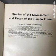Libros: STUDIES OF THE DEVELOPMENT AND DECAY OF THE HUMAN FRAME. Lote 170053684