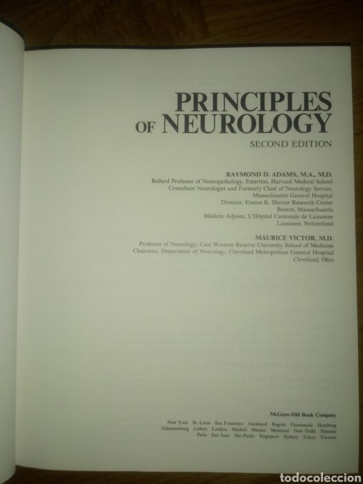 Libros: Libro PRINCIPLES OF NEUROLOGY RAYMOND D.ADAMS MAURICE VICTOR SEGUNDA EDICION - Foto 4 - 171986283