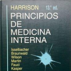 """Libros: PRINCIPIOS DE MEDICINA INTERNA. 2 TOMOS. """"HARRISON"""" INTERAMERICANA. NUEVO REF: UB02. Lote 172712963"""