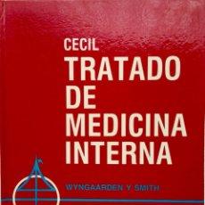 """Libros: TRATADO DE MEDICINA INTERNA. """"CECIL"""" 2 TOMOS. INTERAMERICANA. NUEVO REF: UB03. Lote 172713580"""