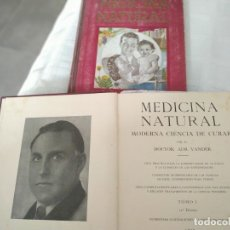 Libros: MEDICINA NATURAL. Lote 173145470