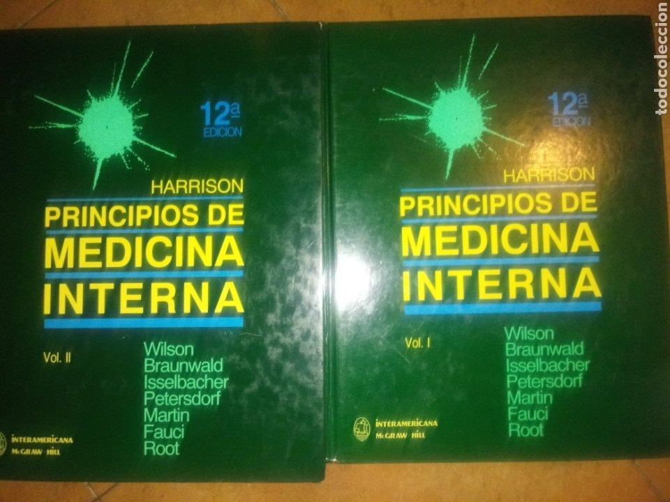 LIBROS HARRISON PRINCIPIOS DE MEDICINA INTERNA 2 VOLÚMENES 12 EDICIÓN (Libros Nuevos - Ciencias, Manuales y Oficios - Medicina, Farmacia y Salud)