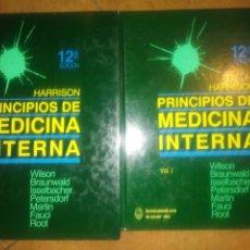 Libros: LIBROS HARRISON PRINCIPIOS DE MEDICINA INTERNA 2 VOLÚMENES 12 EDICIÓN. Lote 175726843