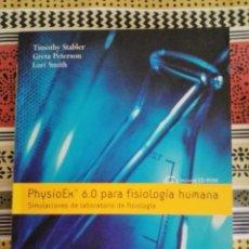 Libros: 15 € LIBRO PHISIOEX 6.0 DE FISIOLOGIA HUMANA.. Lote 175777793