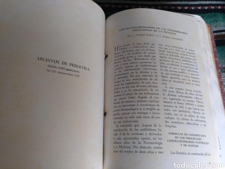 Libros: Archivos de pediatría años 50 y 60 - Foto 32 - 176636158