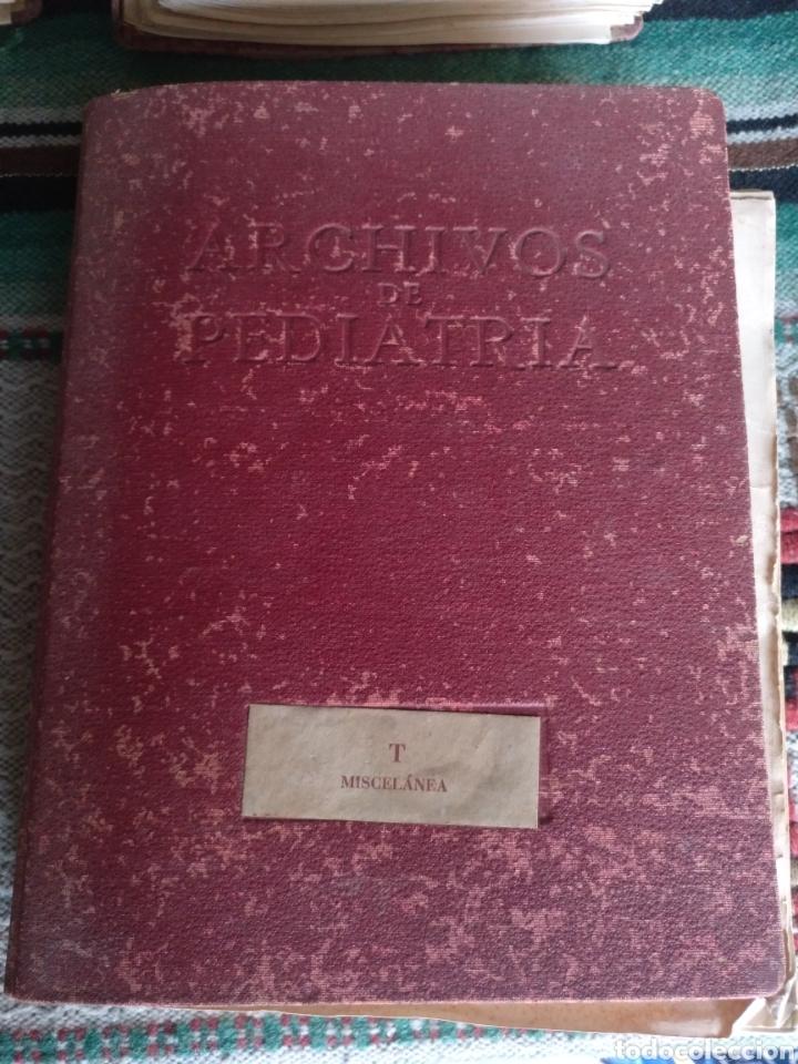 Libros: Archivos de pediatría años 50 y 60 - Foto 33 - 176636158