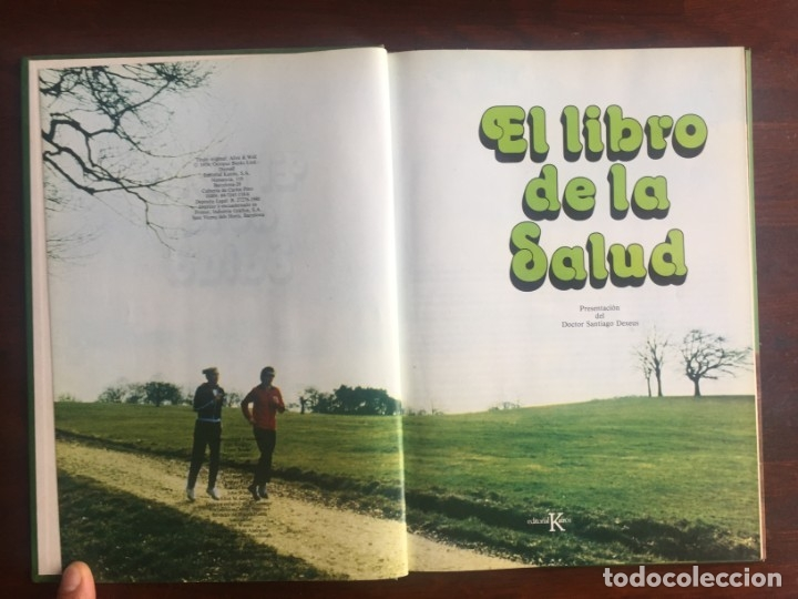 Libros: El libro de la salud, el Dr Santiago Dexeus Un completo compendio con las claves del cuerpo humano - Foto 4 - 177731403