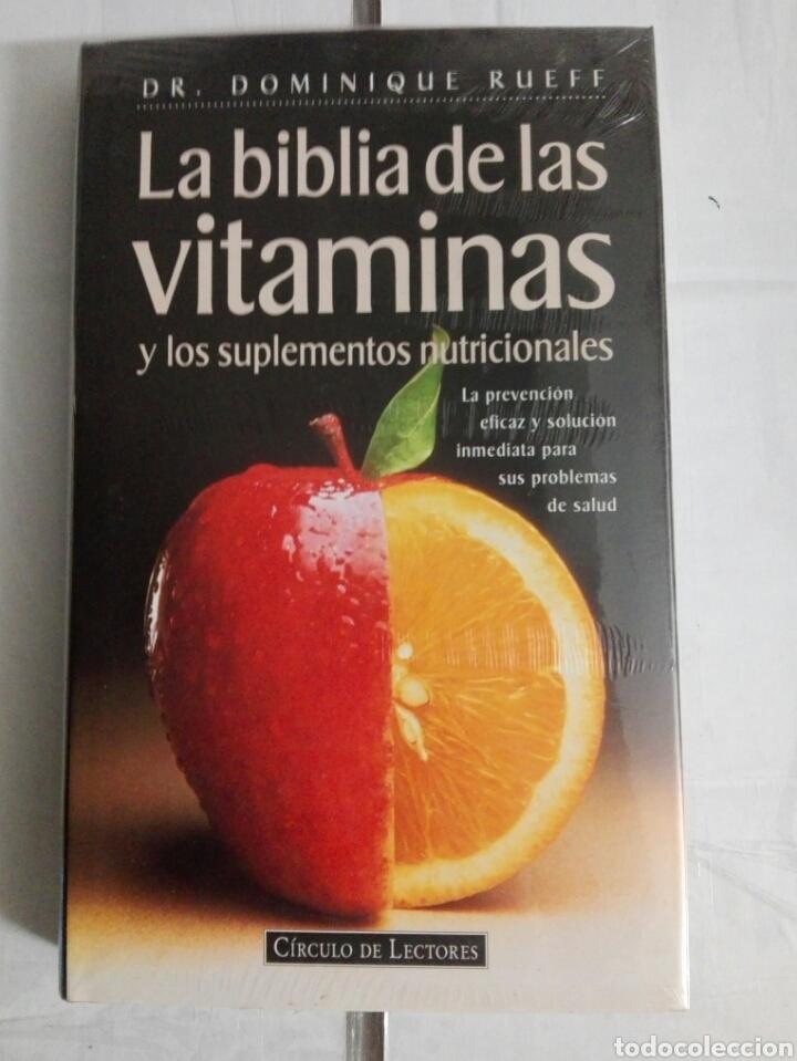 LA BIBLIA DE LAS VITAMINAS (Libros Nuevos - Ciencias, Manuales y Oficios - Medicina, Farmacia y Salud)