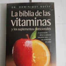 Libros: LA BIBLIA DE LAS VITAMINAS. Lote 178730913