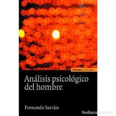 Libros: ANÁLISIS PSICOLÓGICO DEL HOMBRE (FERNANDO SARRÁIS) EUNSA 2011. Lote 183069711