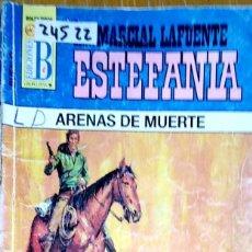 Libros: 24522 - NOVELAS DEL OESTE - ESTEFANIA - COLECCION BUFALO - ARENAS DE MUERTE - Nº 1019. Lote 183696325