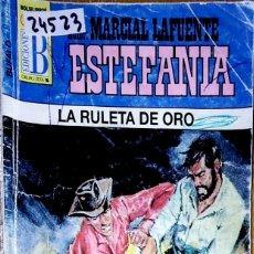 Libros: 24523 - NOVELAS DEL OESTE - ESTEFANIA - COLECCION BUFALO - LA RULETA DE ORO - Nº 1027. Lote 183696362