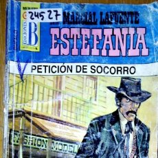 Libros: 24527 - NOVELAS DEL OESTE - ESTEFANIA - COLECCION BUFALO - PETICION DE SOCORRO - Nº 101. Lote 183696588