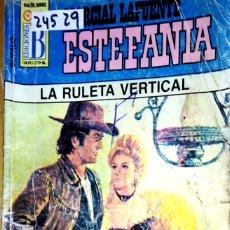 Libros: 24529 - NOVELAS DEL OESTE - ESTEFANIA - COLECCION BUFALO - LA RULETA VERTICAL - Nº 351. Lote 183696703